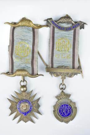 Two Vintage Masonic Freemasonrymedals