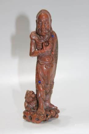 Chinese Statue Shoushan Stone Buddhist Figure