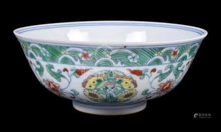 A Chinese Chenghua-style 'Doucai' bowl