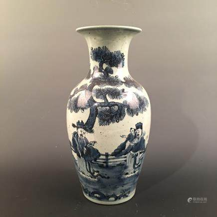 Chinese Blue-White Vase