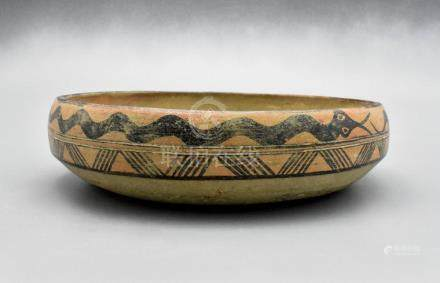 INDUS VALLEY PAINTED VESSEL WITH SNAKES