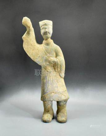 LARGE HAN SOLDIER FIGURINE- TL TESTED