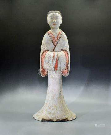 LARGE HAN DYANSTY COURT LADY - TL TESETED