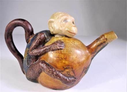 Chinese Monkey Teapot