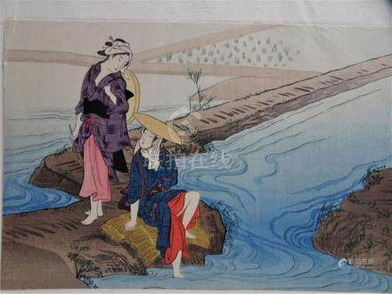 Early Japanese Woodblock