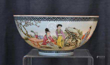 CHINESE REPUBLIC EGG SHELL PORCELAIN BOWL