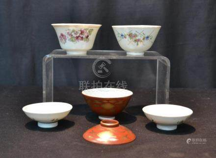 CHINESE PORCELAIN LOT TO INCLUDE