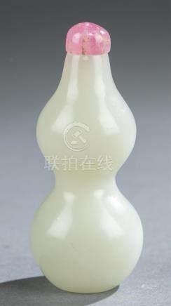 Jade snuff bottle.