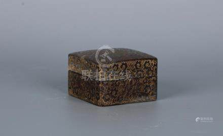 A CHINESE SOAPSTONE SEAL PASTE BOX, QIANLONG PERIOD, QING DY