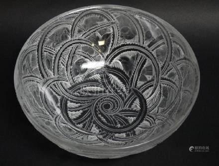 Lalique Pinsons Sparrow Bowl