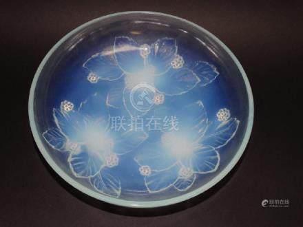 Sabino Opalescent Art Glass Berry Dish