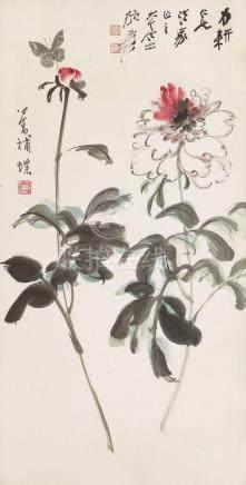 張大千;溥心畬 ZHANG DAQIAN (Taiwanese, 1899-1983); PU HSINYU (Taiw