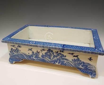 19TH CENTURY JAPANESE BONSAI PLANTER