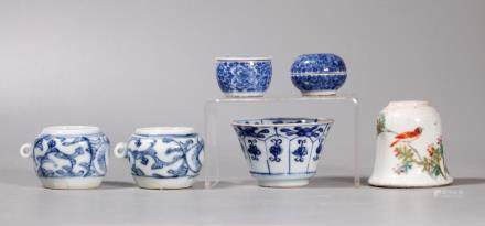 6 Chinese Qing Dynasty Porcelains