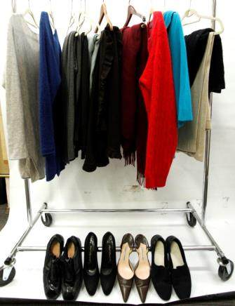 12 Cashmere or Wool Wraps Blahnik Lagerfeld Shoes