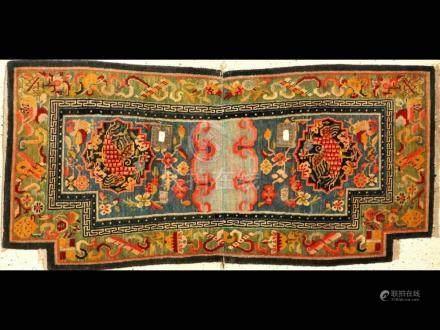 'Published' Tibetan Shigatse 'Makden' Saddle (Phoenyx Firebi
