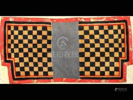'Published' Tibetan 'Makden' Saddle (Checkers-Board),