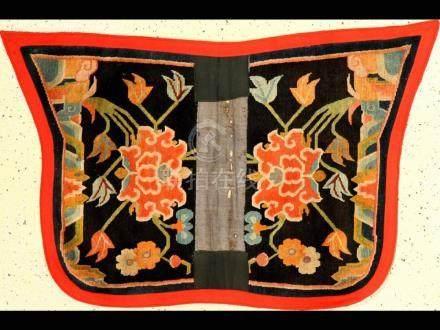 Tibetan Shigatse 'Makden' Saddle (Lotus),