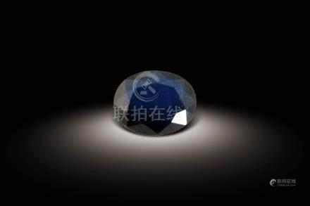 天然藍寶裸石