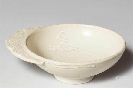 Kleiner Pinselwascher. Huozhou-Öfen. Jin-Zeit (1115-1234)Schale mit gerundeter Wandung, am Rand