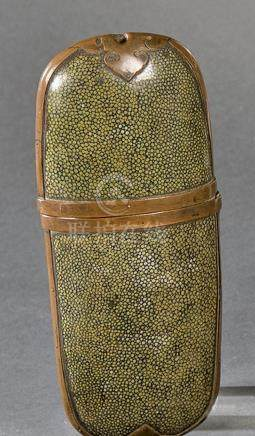 Cigar case or eyeglasses case in galouchart, Japan, Periodo