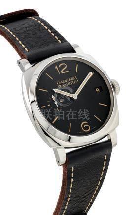 沛納海,不銹鋼枕形腕錶,''Radiomir 1940 3 Days'',型號PAM00514,OP6943,約2013年製