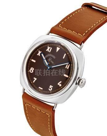 """沛納海,精細及非常罕有,鉑金枕形腕錶,""""Radiomir 1936"""",型號PAM00262,限量生產,約2006年製"""