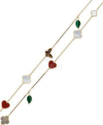 寶石「Alhambra」項鍊Van Cleef & Arpels設計