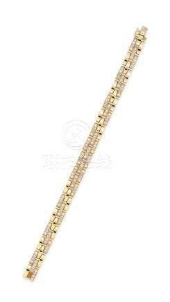 鑽石「Maillon Panthère」手鍊Cartier設計
