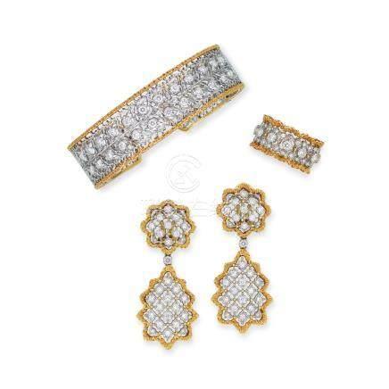 鑽石套裝Buccellati設計