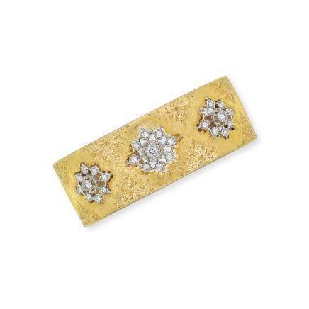 鑽石手鐲Buccellati設計