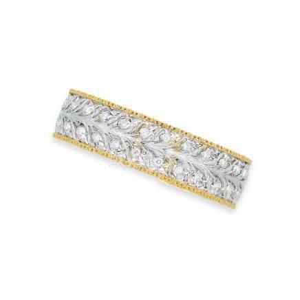 鑽石「Ramage」手鐲Buccellati設計