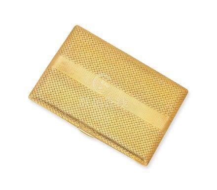 黃金香煙盒Van Cleef & Arpels設計