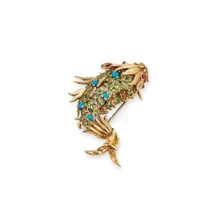 寶石胸針Jean Schlumberger, Tiffany & Co.設計