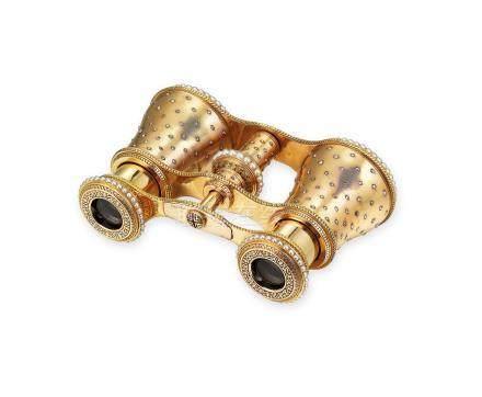 鑽石及珍珠望遠鏡Cartier設計