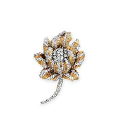 鑽石胸針David Webb設計