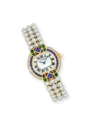 寶石腕錶Cartier設計