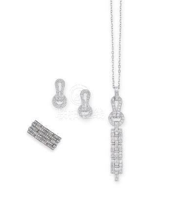 鑽石「Maillon Panthère」套裝Cartier設計
