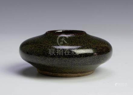 CHINESE TEADUST GLAZED WATER COUPE, JIAQING