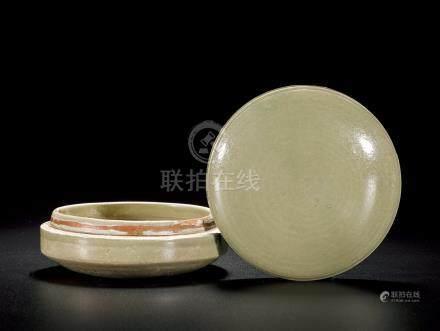 唐 越窑粉盒