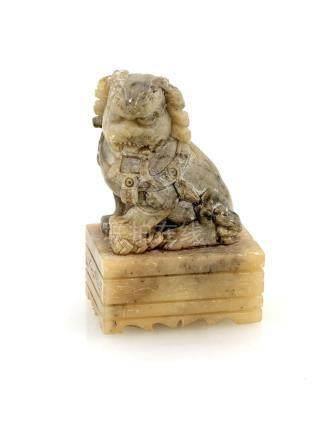 Jade buddhist lion