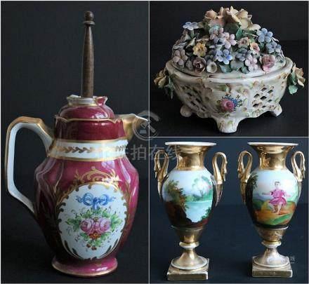 Lot of porcelain