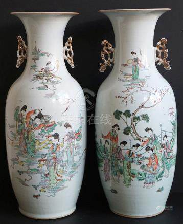 19th century Chinese vases (2)