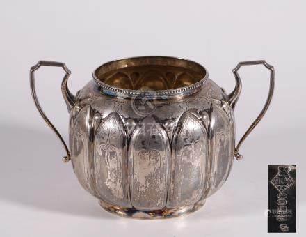 European silver milk jug &pod 2