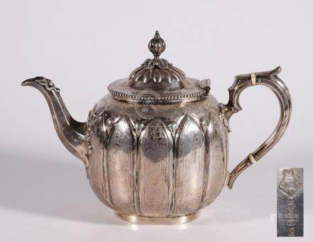 European silver milk jug& pod 3