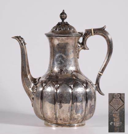 European silver milk jug & pod4