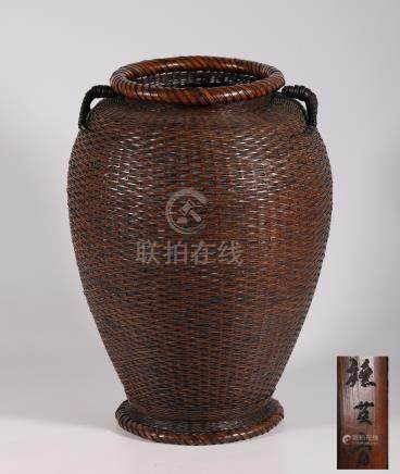Bamboo Basket from Qing Dynasty