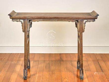 Antique Chinese Huali Wood Stand