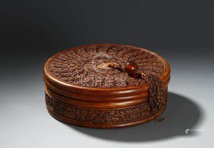 Chinese Huali Box and Cover
