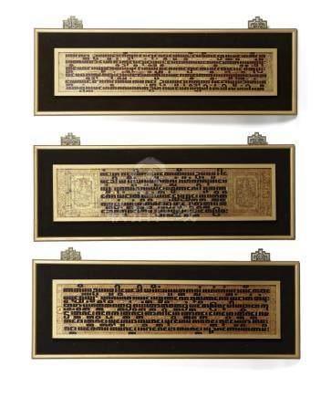 Three Chinese Burmese Manuscripts